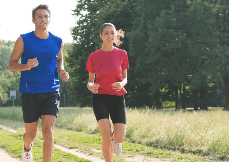 el ejercicio es un buen aliado para reducir los gases